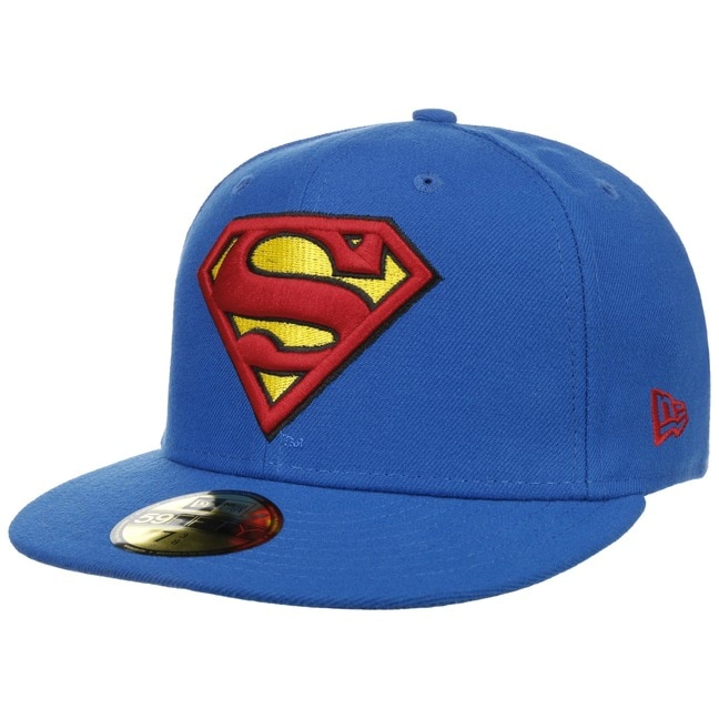 4cd9efc2dab70 Gorra 59Fifty Superman Blueby New Era - Gorras - sombreroshop.es
