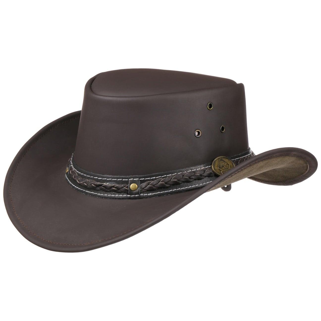 Sombrero de Piel Borderland  sombrero de piel lisa