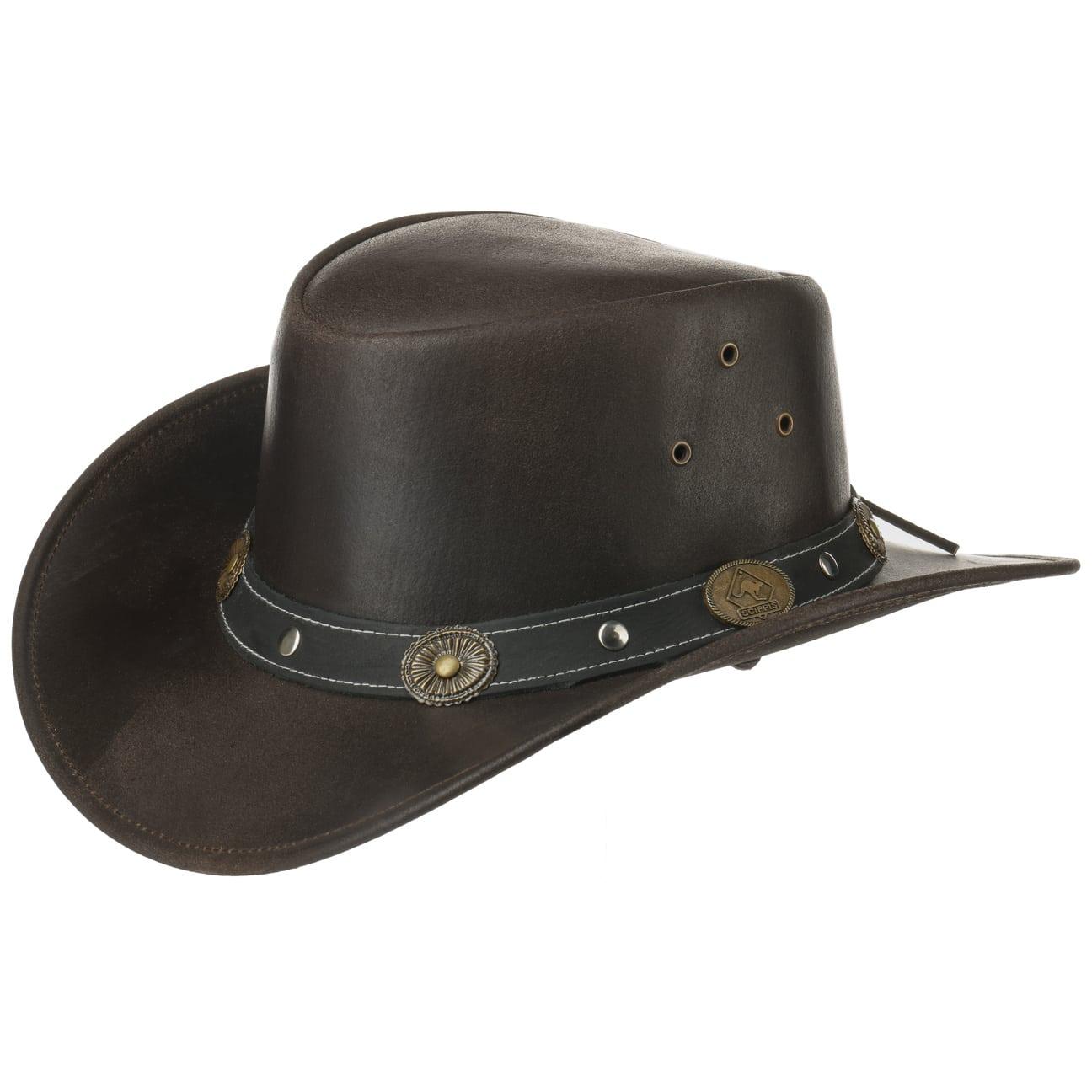 Sombrero de Piel Elreno by Scippis  piel natural