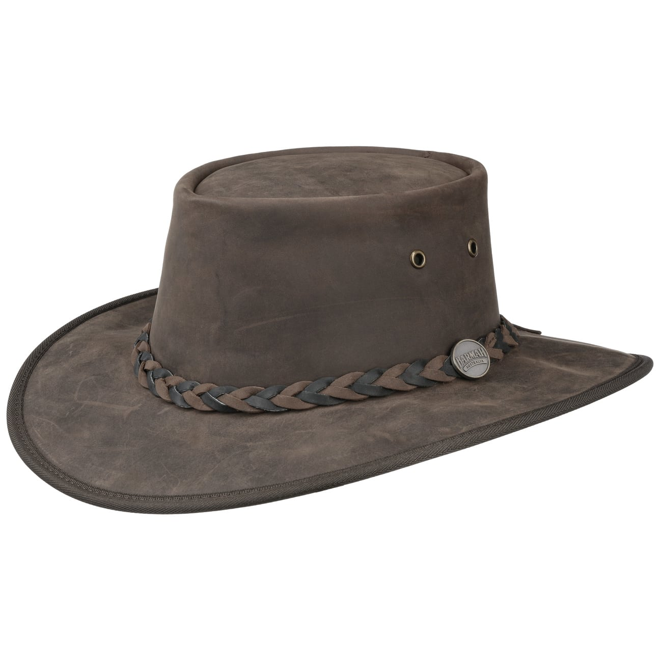 Sombrero Squashy Twotone by BARMAH  piel de vaca