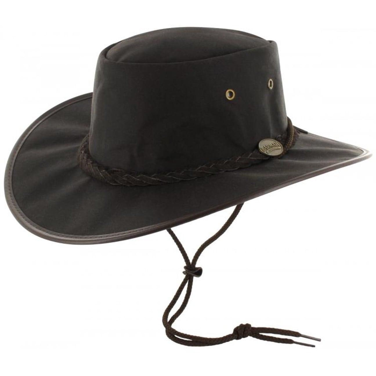 Sombrero Oilskin Drover Deluxe by BARMAH  resistente al agua