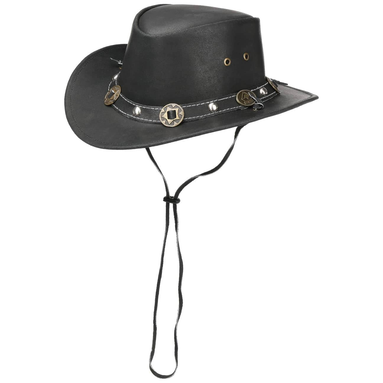 sombrero-de-piel-concho-by-scippis, 49.95 EUR @ sombreroshop-es