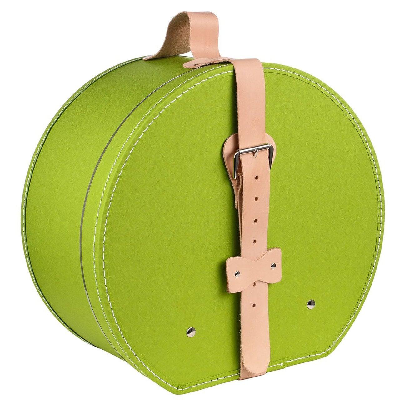 Caja para Sombrero Cintur?n Piel by Lierys