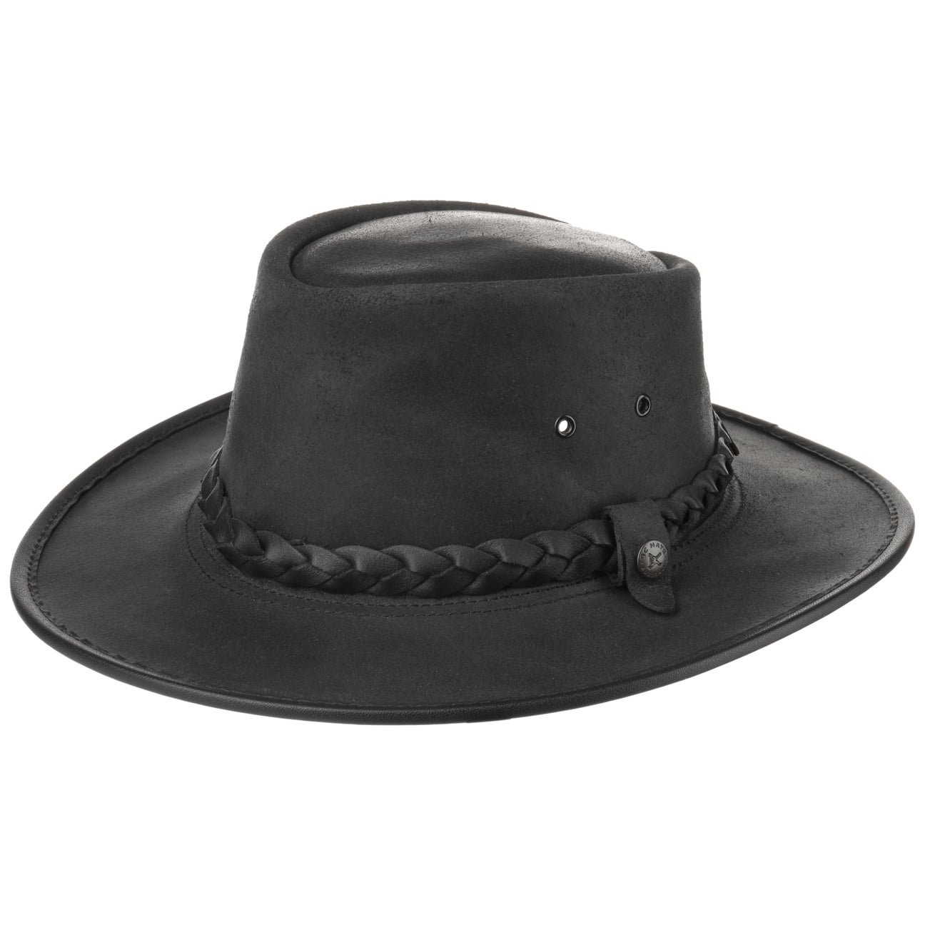 Traveller Steerhide Bac Pac by BC HATS  Australia