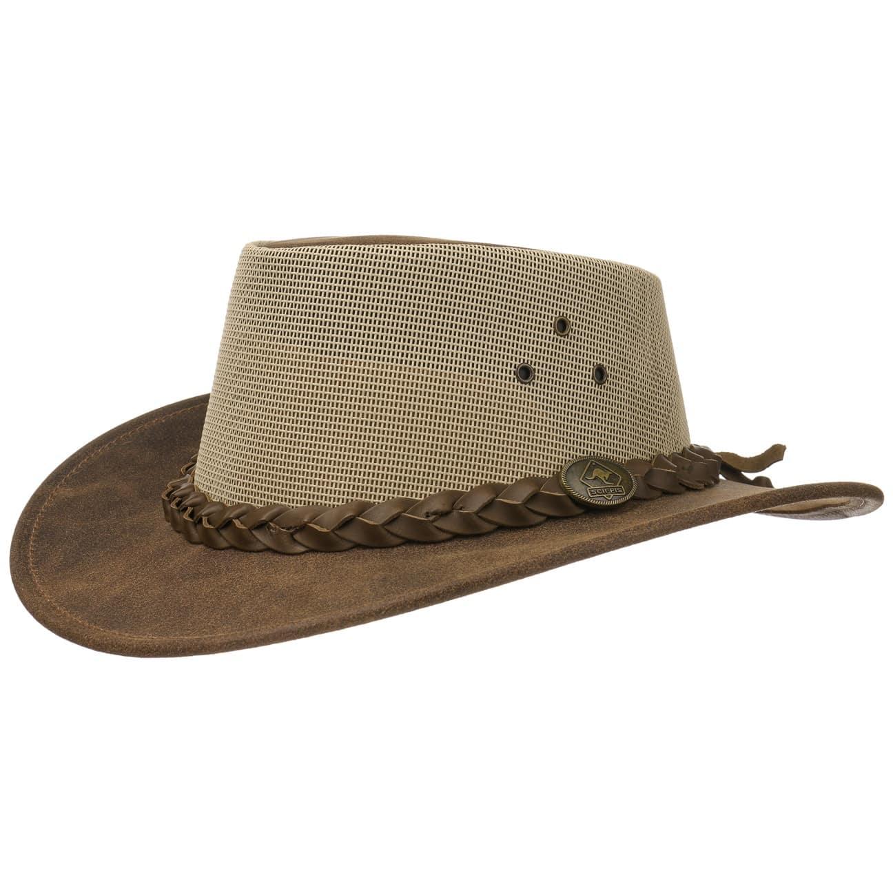 Sombrero de Piel Darwin Cooler by Scippis  sombrero de piel natural