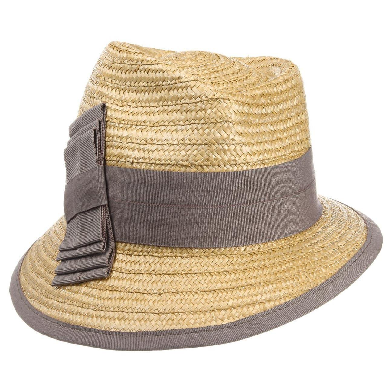 Sombrero Asim?trico de Paja by bedacht  trilby de paja