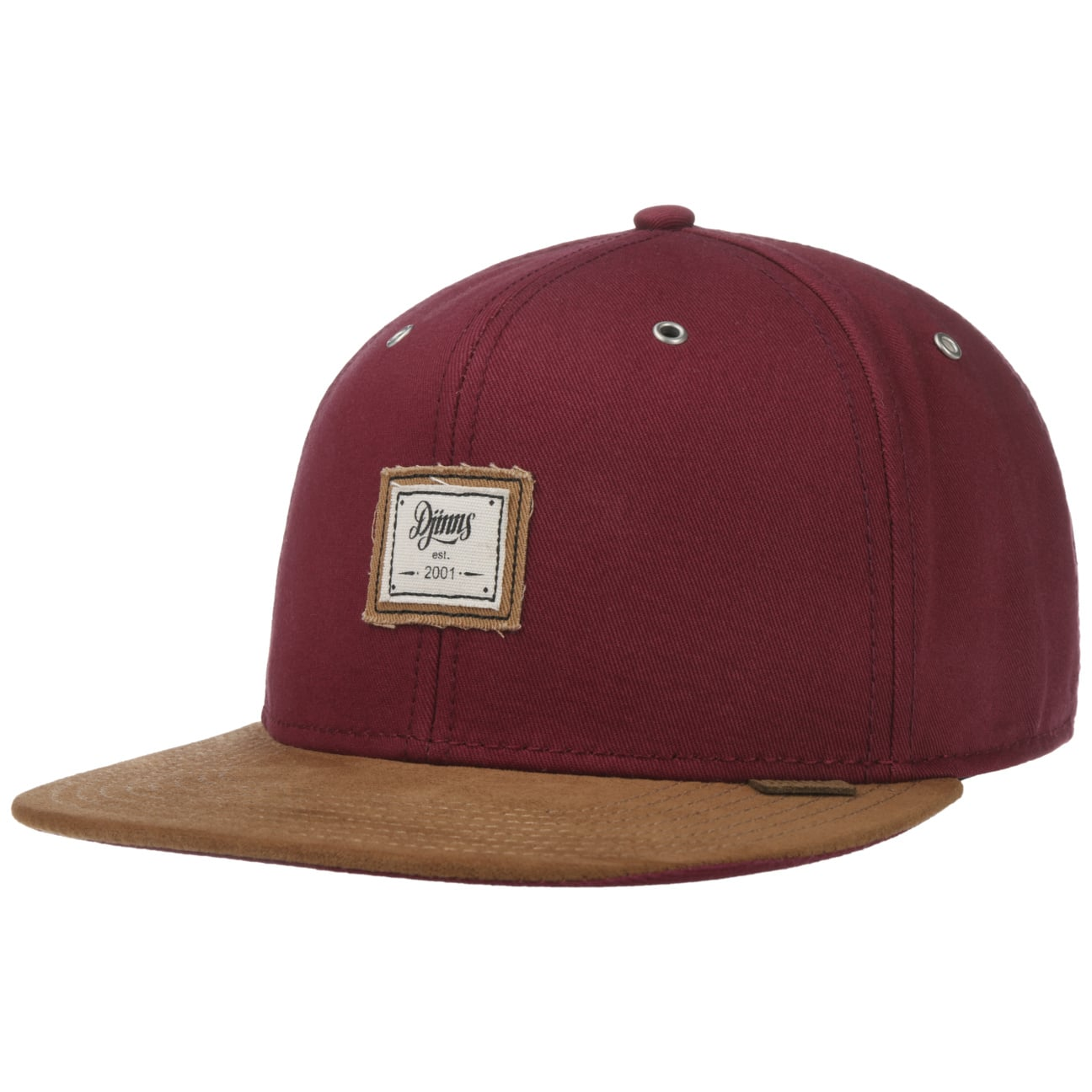 6 Panel Canvas Snapback Cap by Djinns