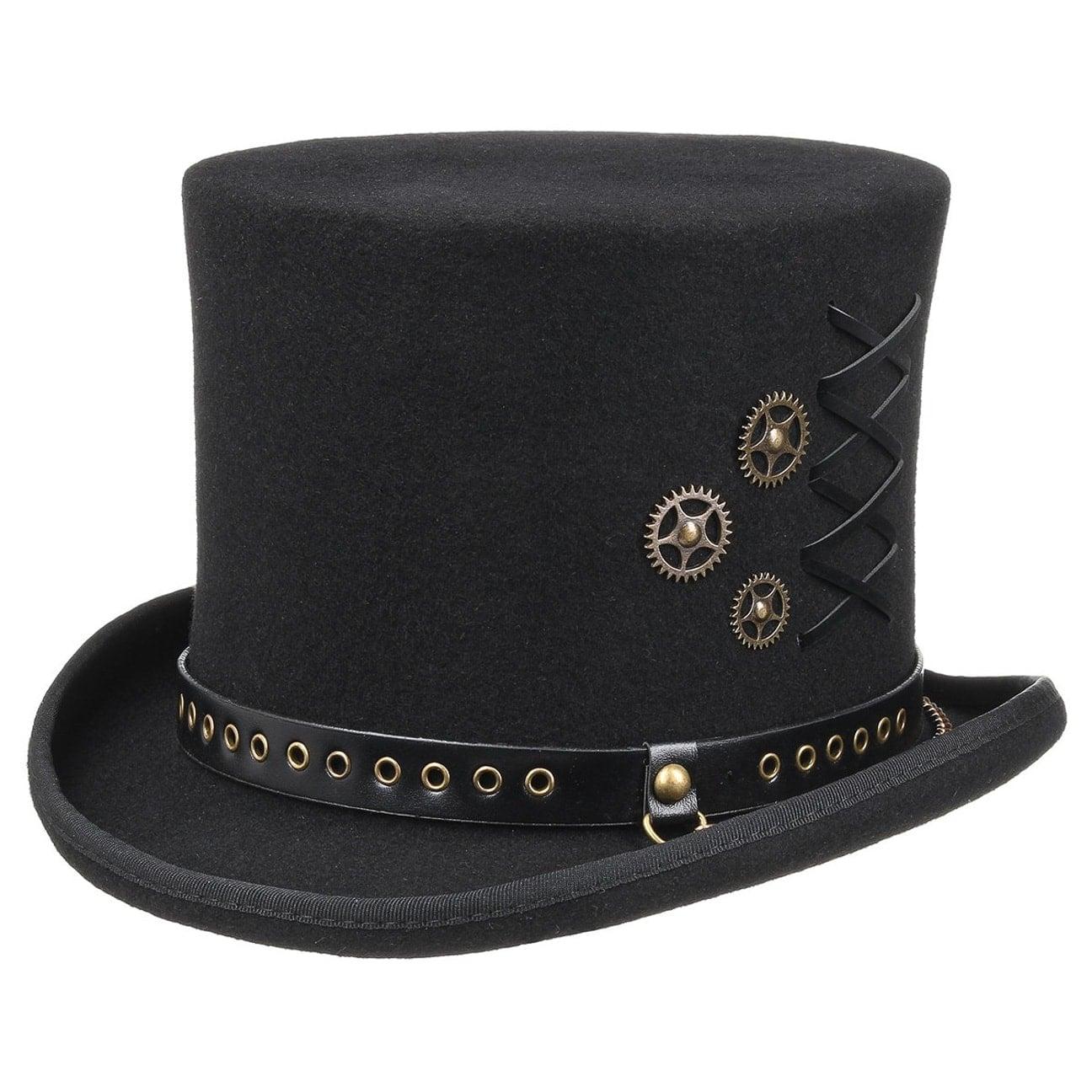 Sombrero Copa Lacing Steampunk by Conner  sombrero de hombre