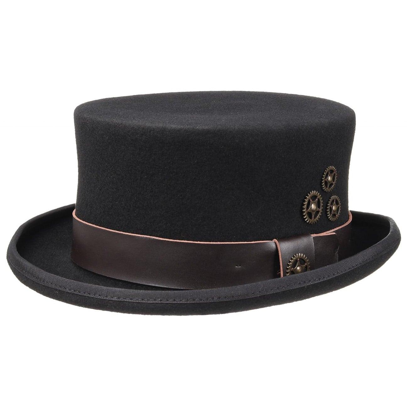 Sombrero de Copa Steampunk by Conner  sombrero steampunk