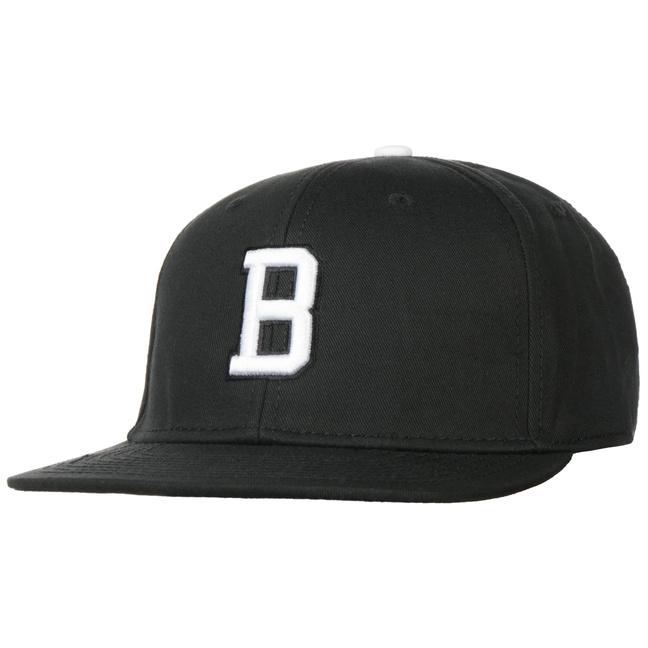 Gorra B Letter Snapback Cap - Gorras - sombreroshop.es 1edf894f70a