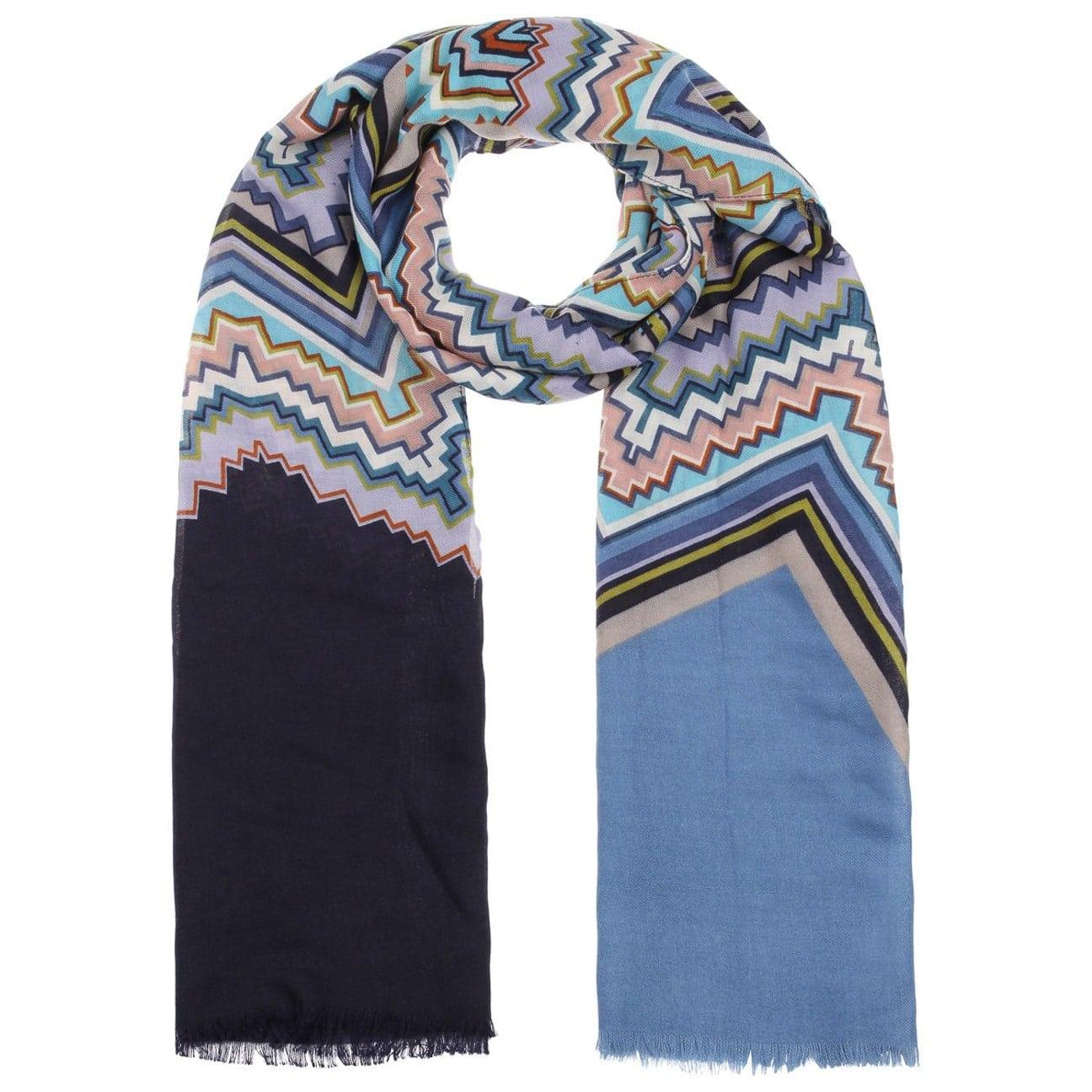 Bufanda de Mujer Zigzag Print by Codello  bufanda de invierno