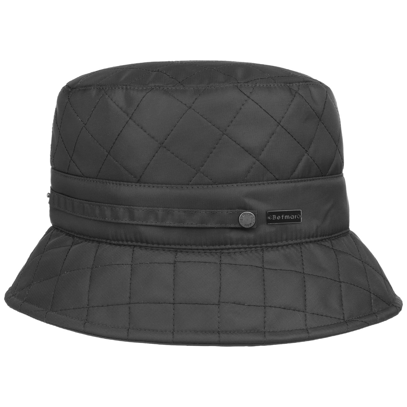 Sombrero de Mujer Quilted Bucket by Betmar  sombrero de lluvia