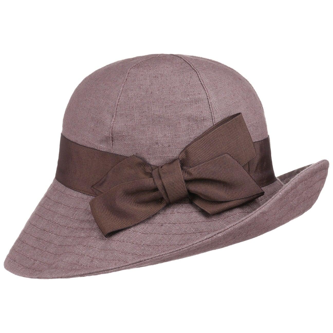 Sombrero ad ala Ancha de Lino by bedacht  sombrero de mujer