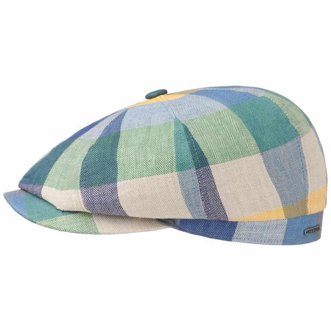 4d6d70b5ac450 Gorra Hatteras Lino Colour by Stetson - Gorras - sombreroshop.es