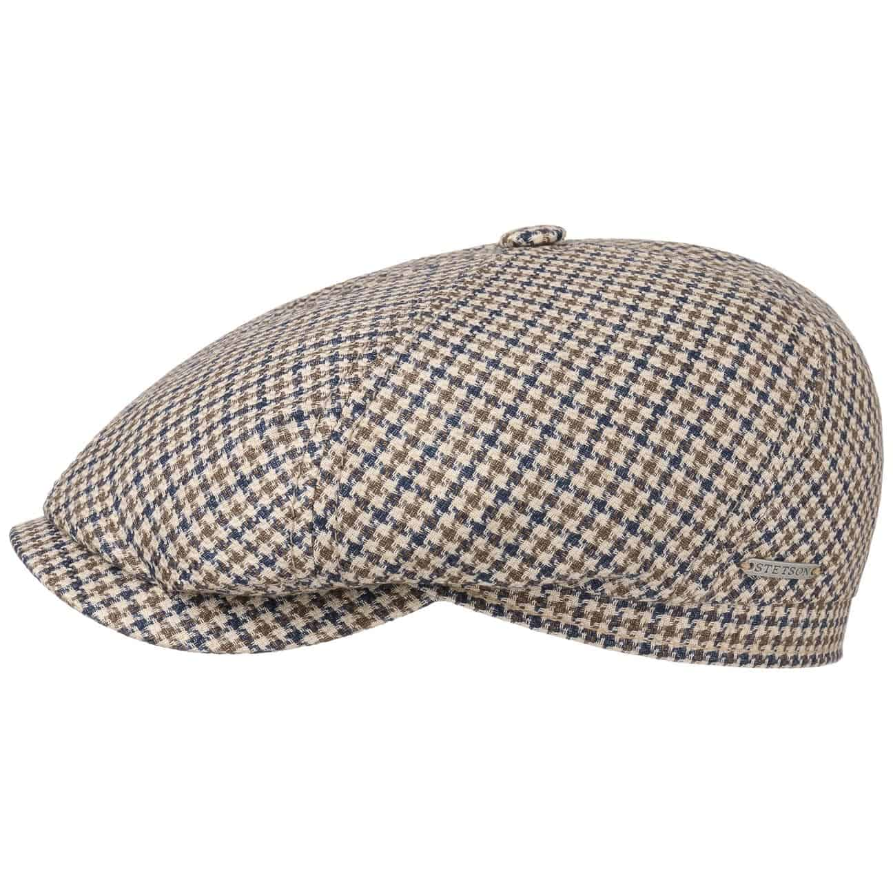 Gorra 6-Panel Houndstooth by Stetson