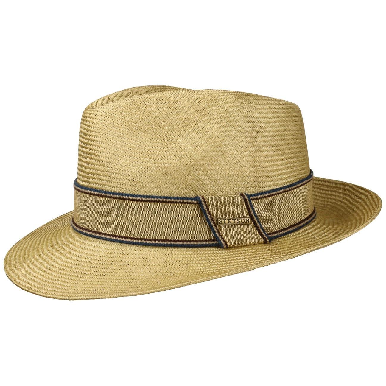 Sombrero Abaca Fedora by Stetson  sombrero de verano