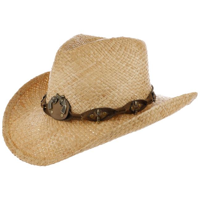 a65c052b6b863 Sombrero de Paja Arlington Cowboy - Sombreros - sombreroshop.es
