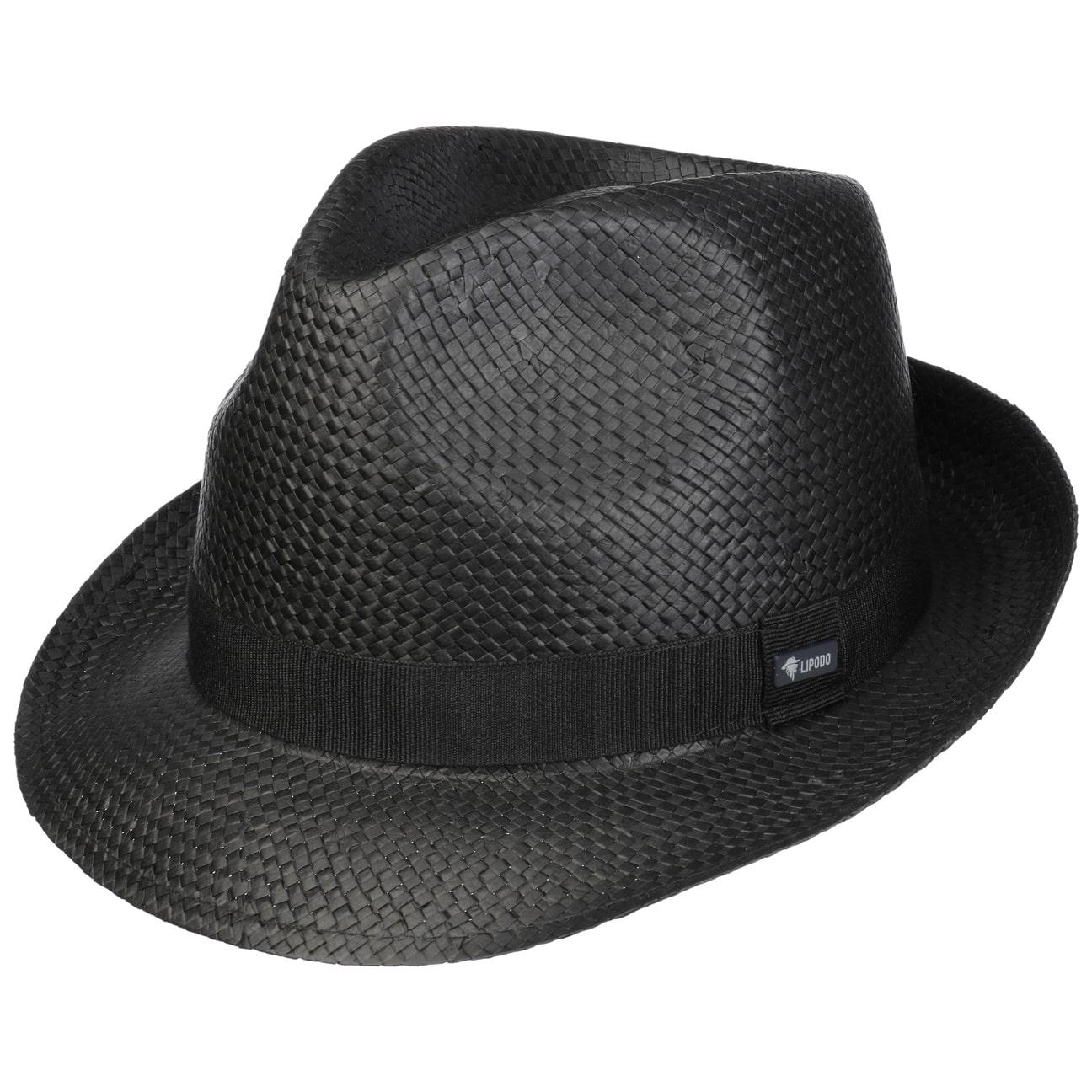 Sombrero Black City Trilby by Lipodo  sombrero de verano