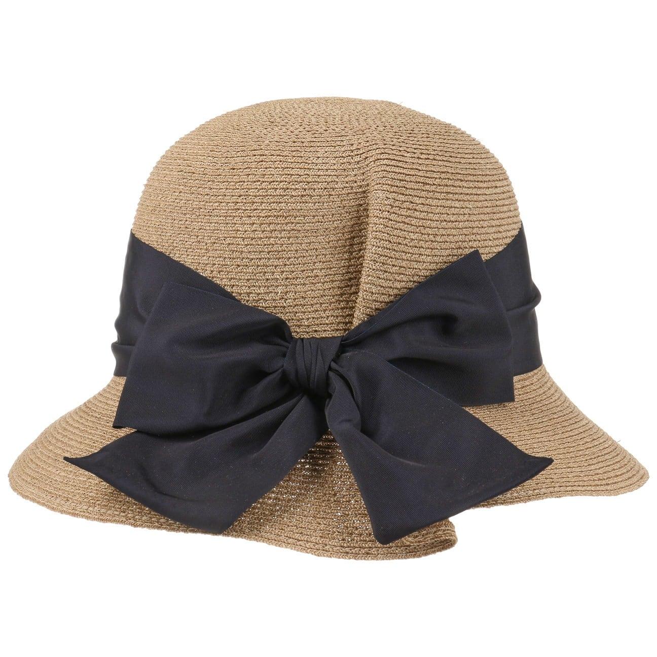Sombrero de Mujer Abac? con Lazo by GREVI  sombrero de verano