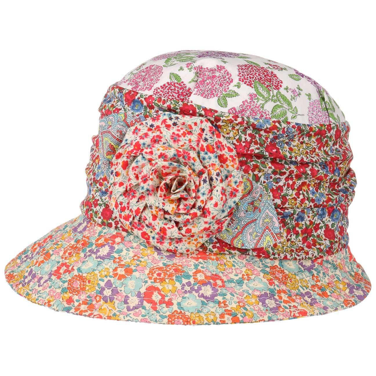 Sombrero Cloch? Flower Patchwork by GREVI  sombrero de verano