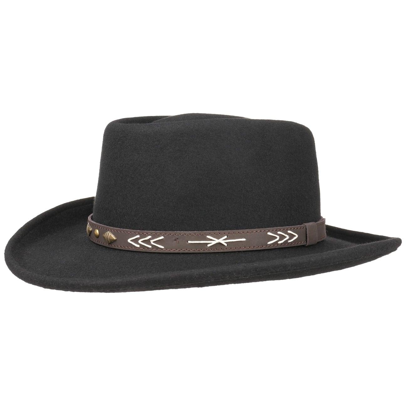 Sombrero Fieltro Arizo Gambler by Conner  sombrero de lana