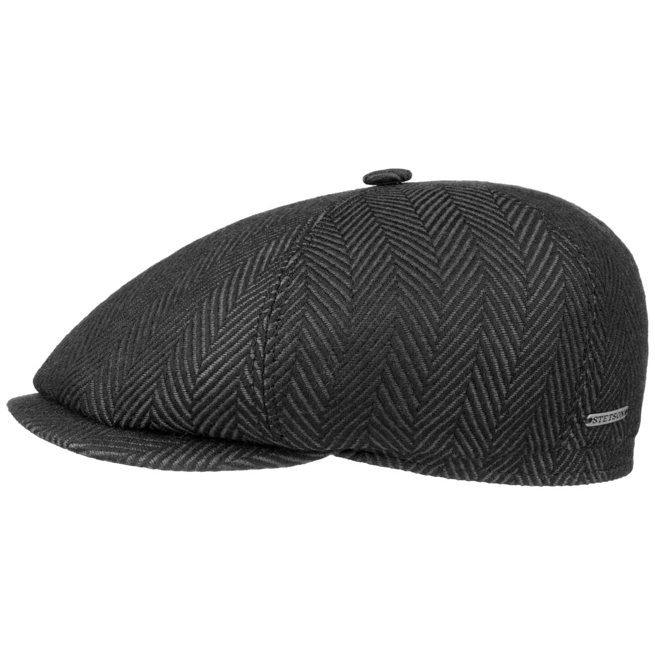 Gorra6-Panel Herringbone by Stetson  gorra de invierno