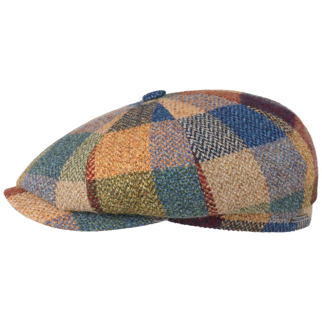 Gorra Hatteras Lambswool Check by Stetson