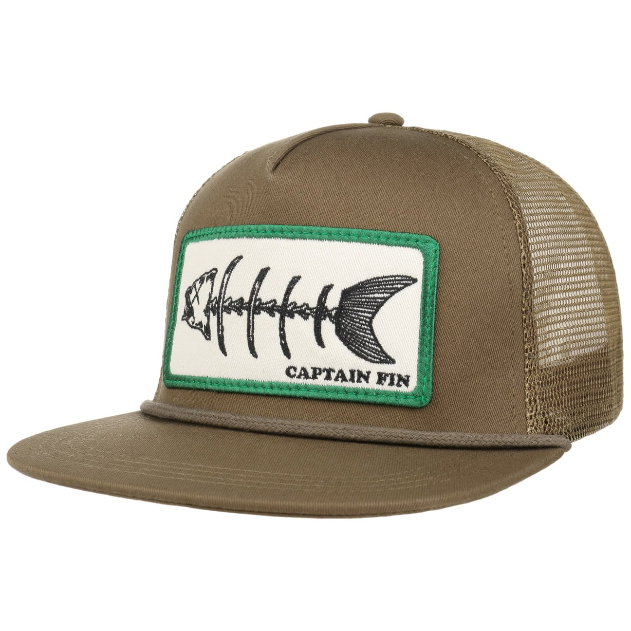 Gorra Fishbones Trucker by Captain Fin  gorra de b?isbol