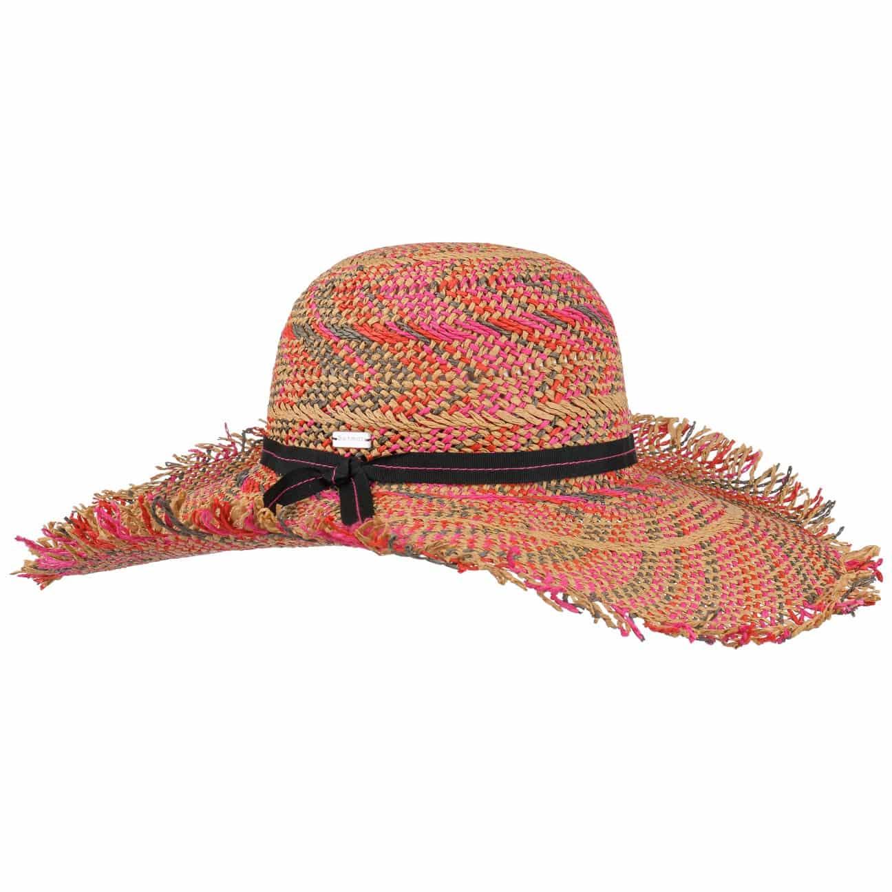 Sombrero de ala Ancha Tulum by Betmar  sombrero de sol