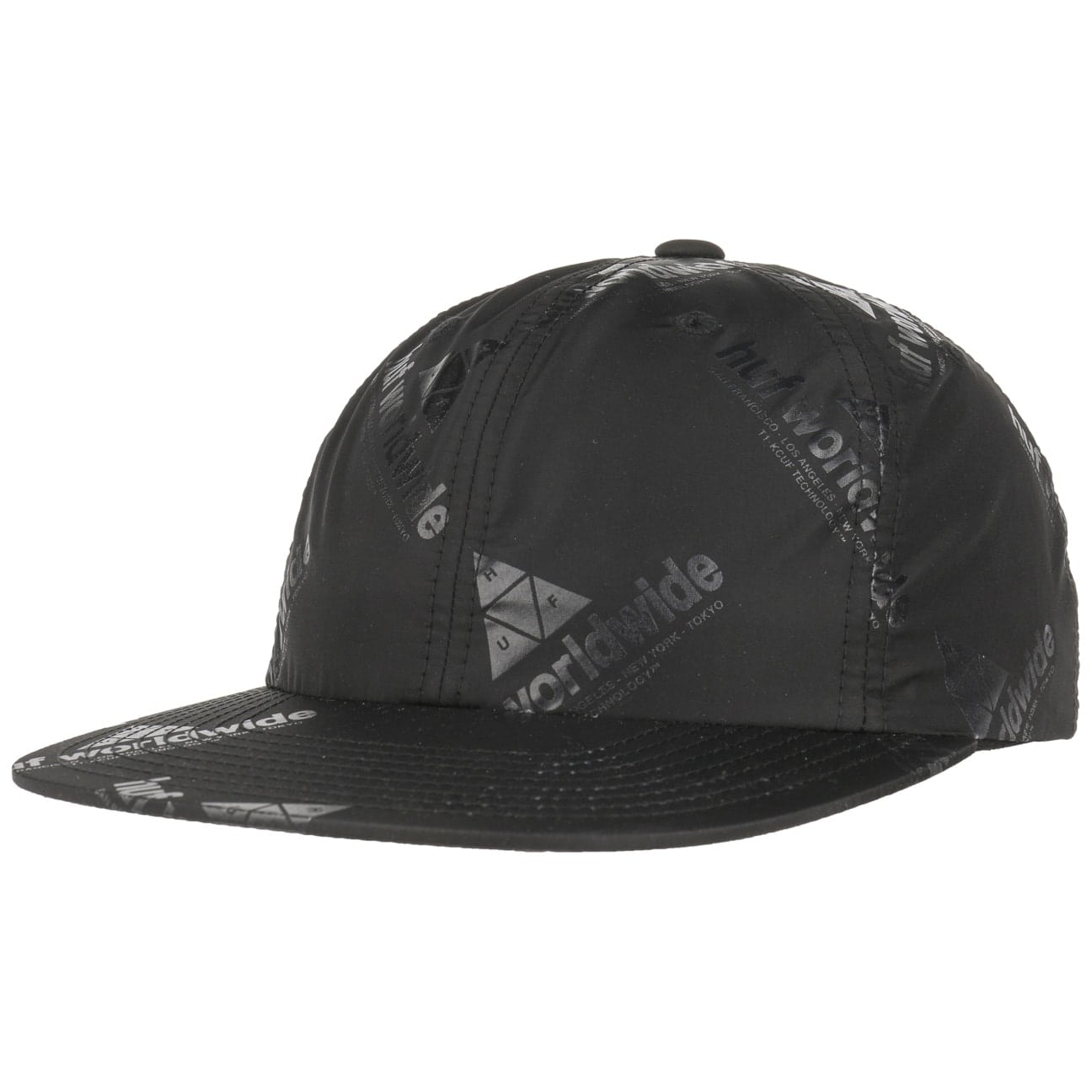 Gorra 6 Panel Peak Strapback by HUF  gorra de baseball
