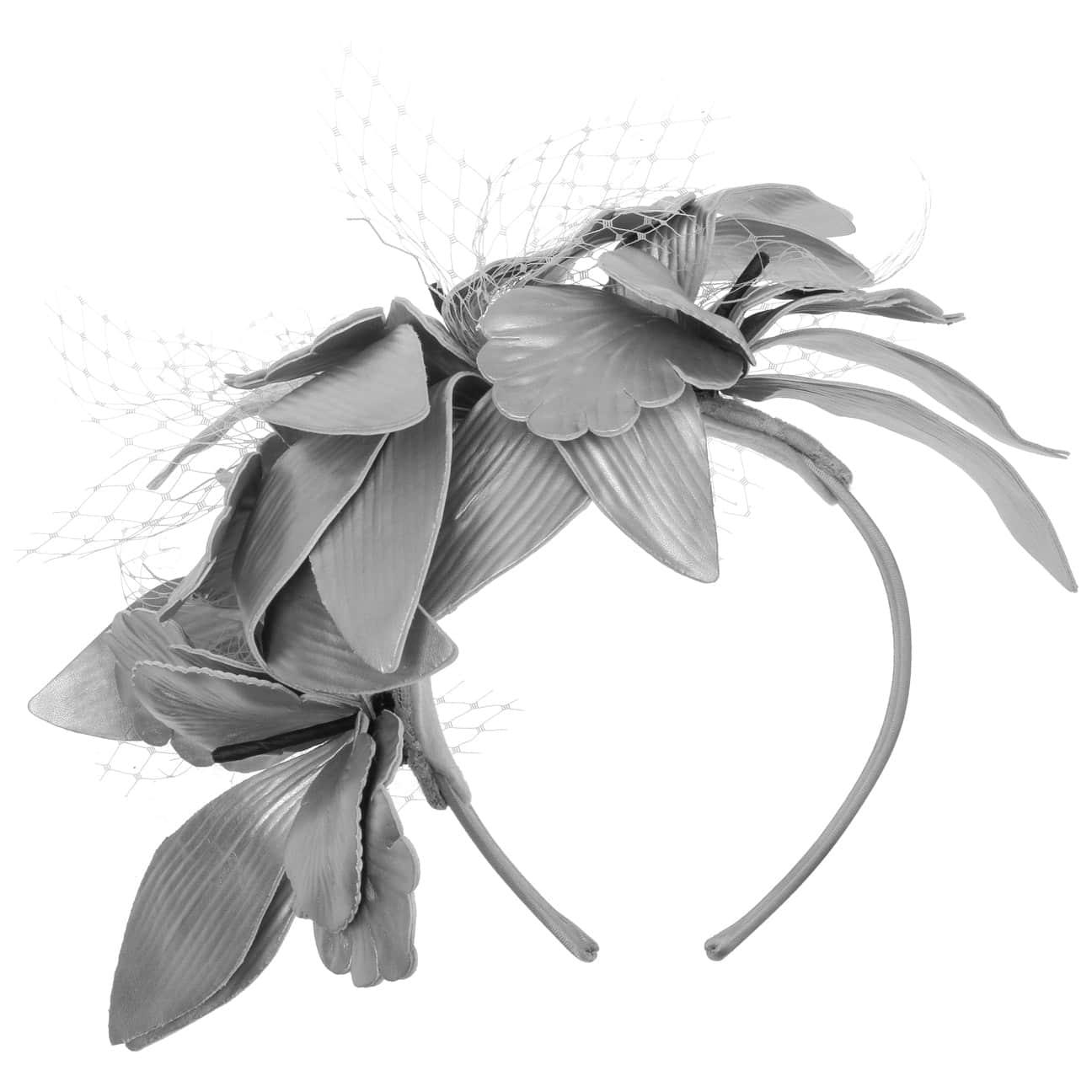Tocado Silver-Blossoms by Maja Prinzessin von Hohenzollern  sombrero de ocasi?n especial