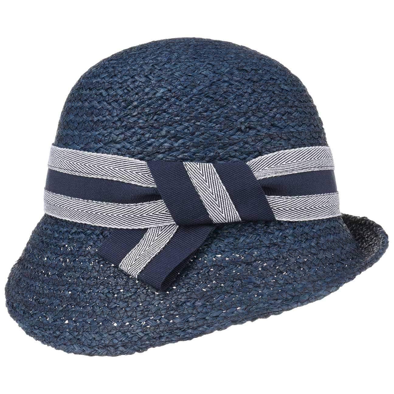 Sombrero Cloch? de Rafia Yvonne by bedacht  sombrero de mujer