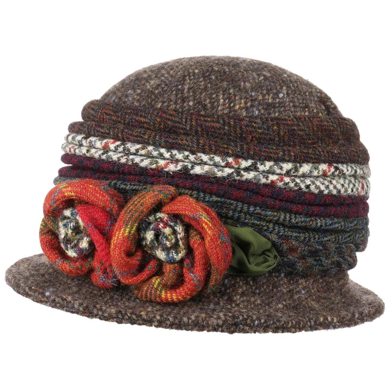 Sombrero de Lana Patchwork by GREVI  sombrero de lana