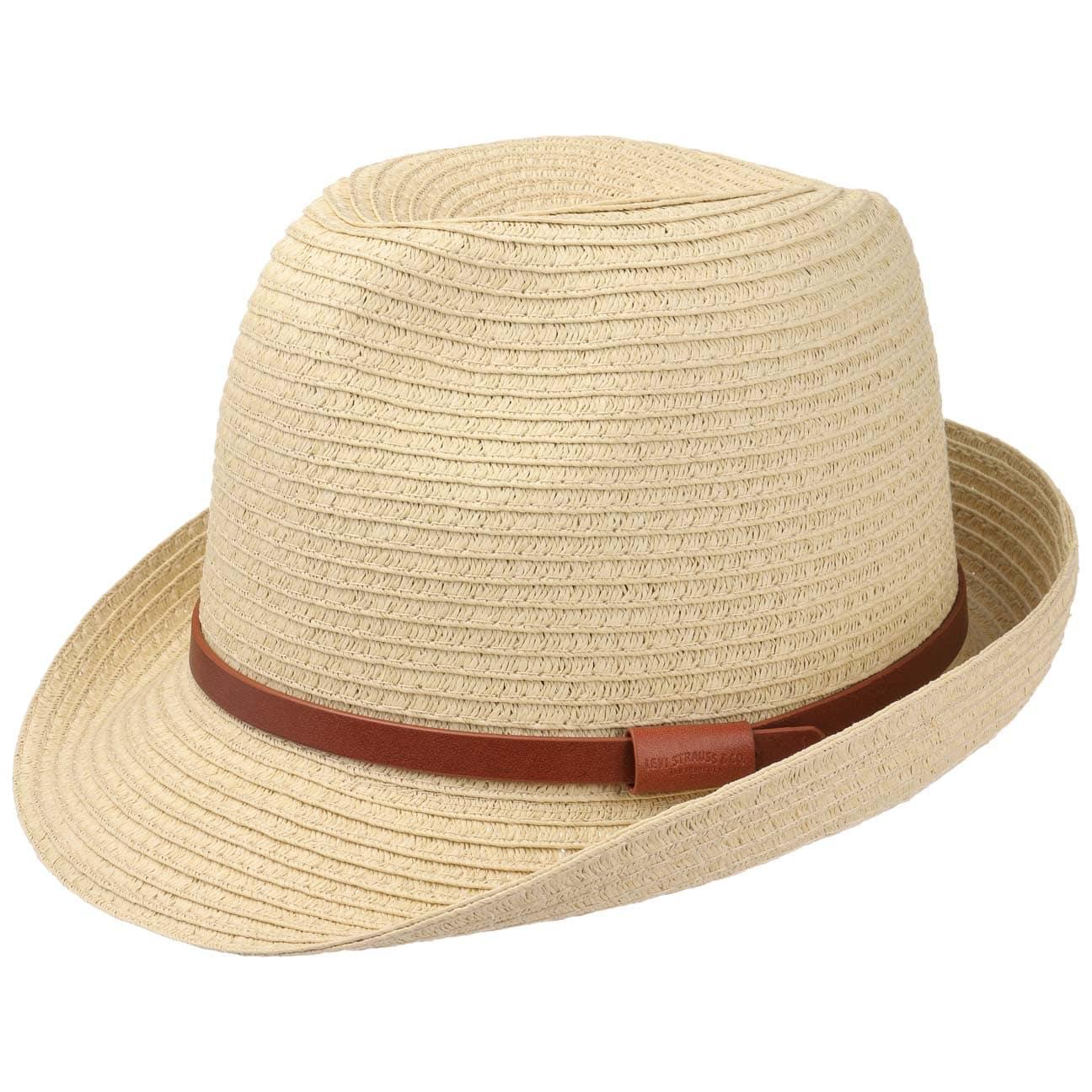 Sombrero de Paja Mondello Trilby by Levis  sombrero de playa