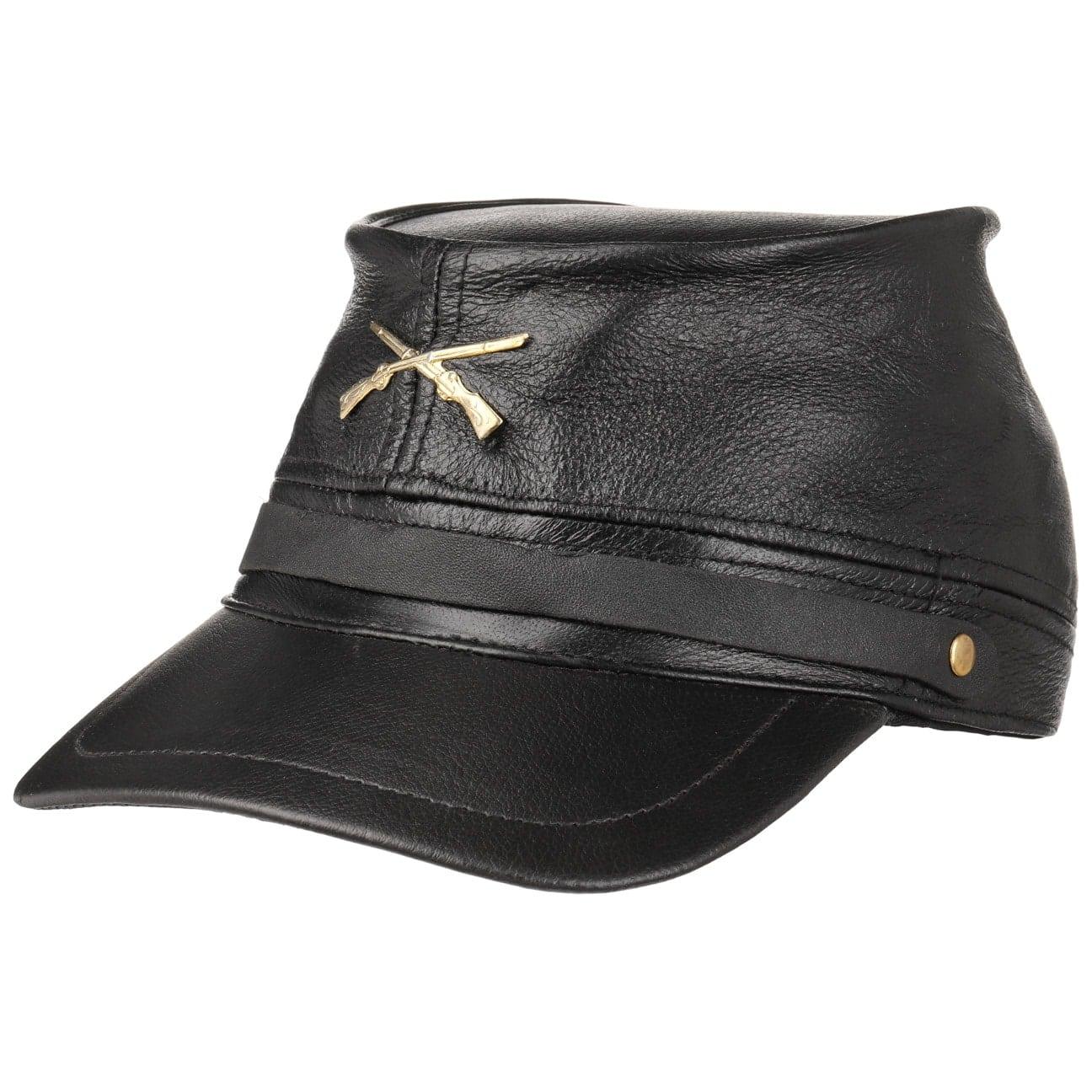 Civil War Leather Cap  gorra