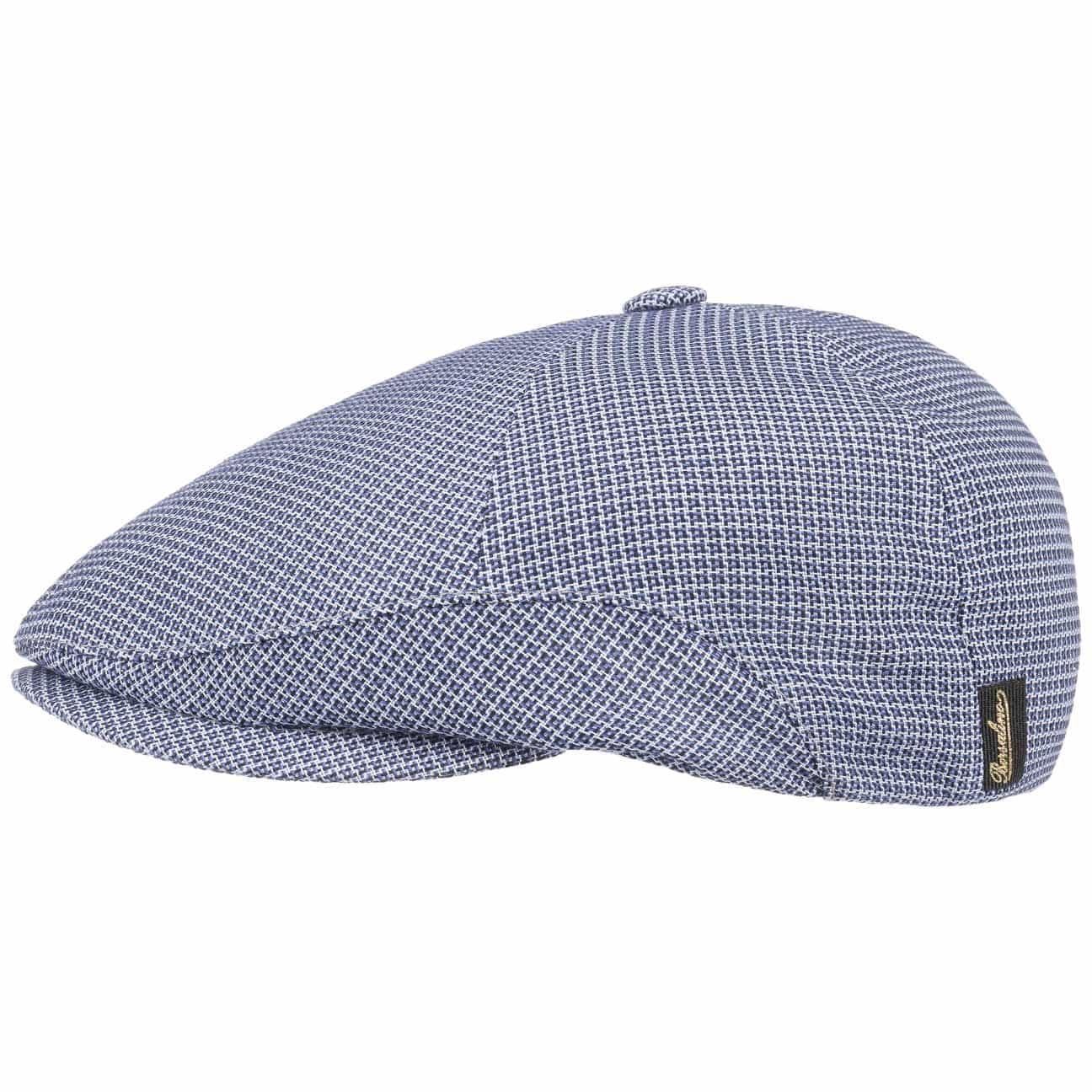 Gorra Houndstooth Viscose by Borsalino