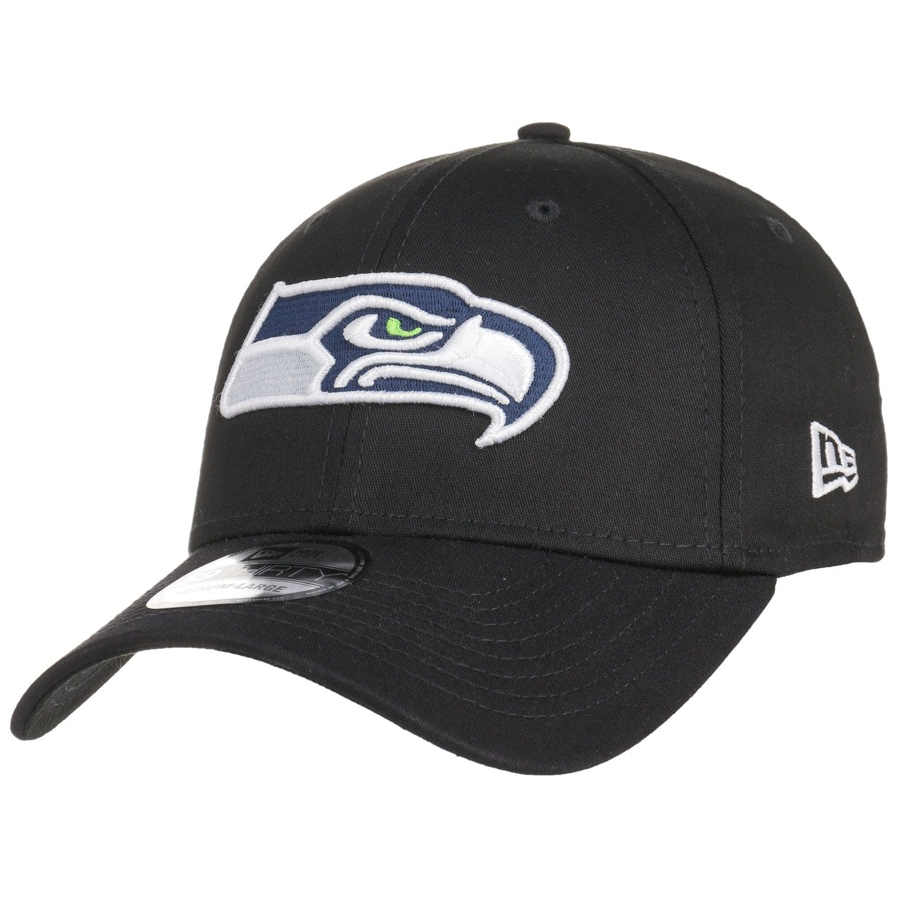 Gorra 39Thirty Black Base Seahawks by New Era