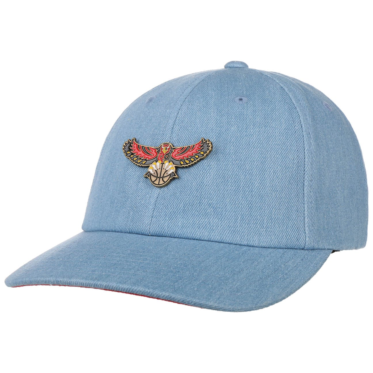 Gorra Denim HWC Hawks by Mitchell & Ness  Curved Brim Cap