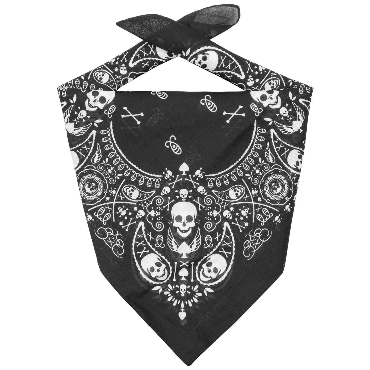 Bandana de Algod?n Skulls by Lipodo  bufanda