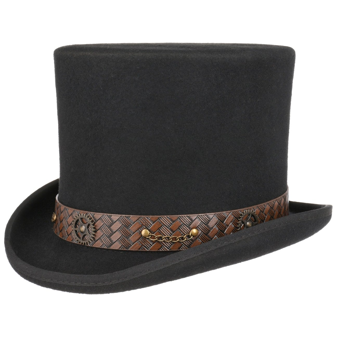 Sombrero Cilindro Mad Hatter Steampunk by Conner