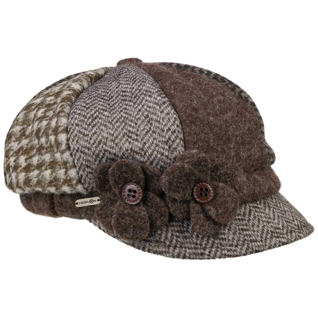 Gorra de Mujer Tri-Patterned by McBURN  gorra de mujer