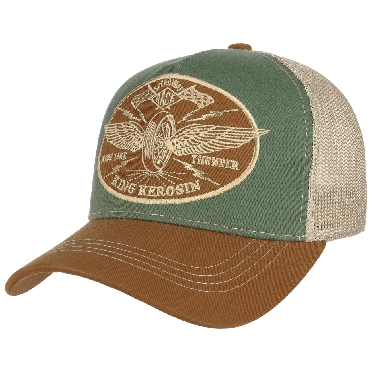 Gorra Ride Like Thunder Trucker by King Kerosin