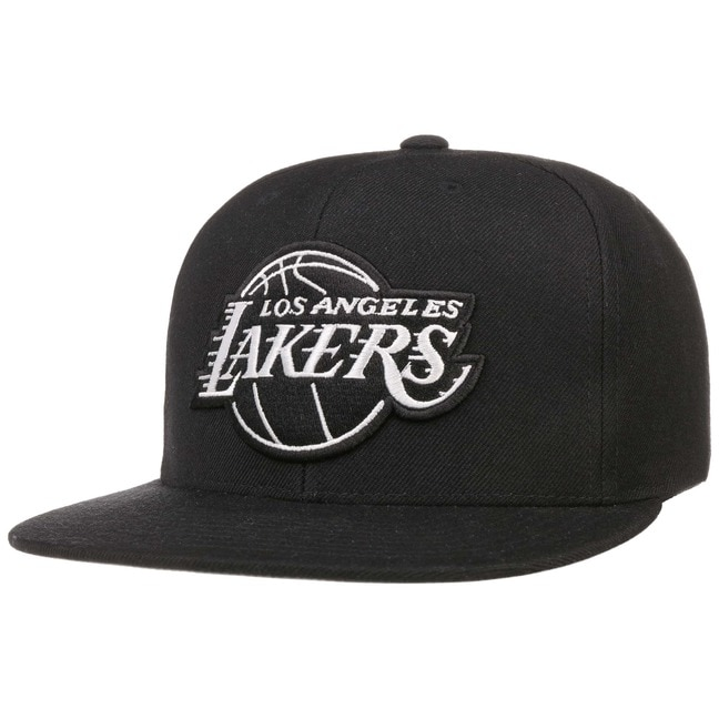 Gorra Wool Solid B W Lakers by Mitchell   Ness - Gorras ... 30c40b30413