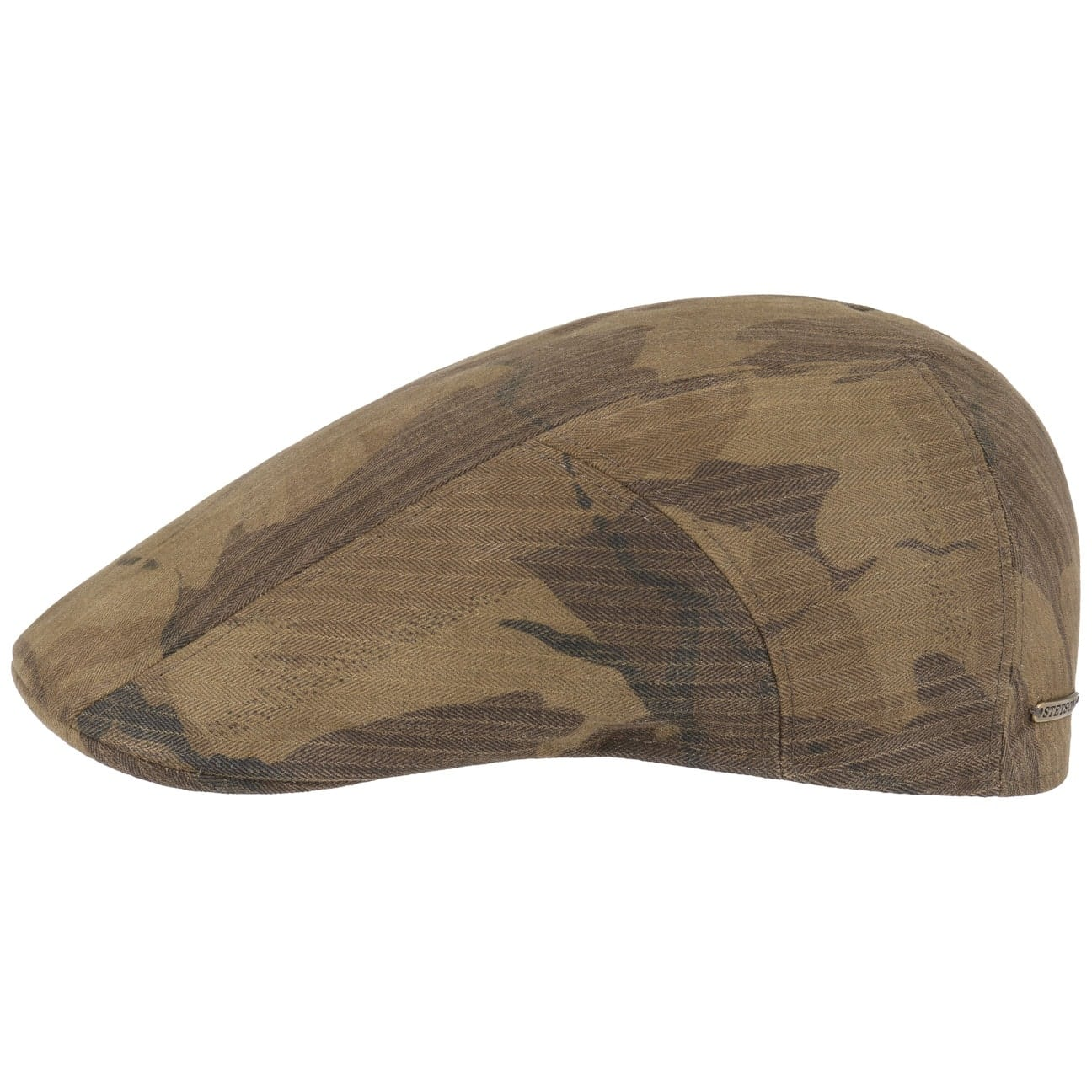 Ivy Cap Waxed Cotton Camouflage Ridge by Stetson