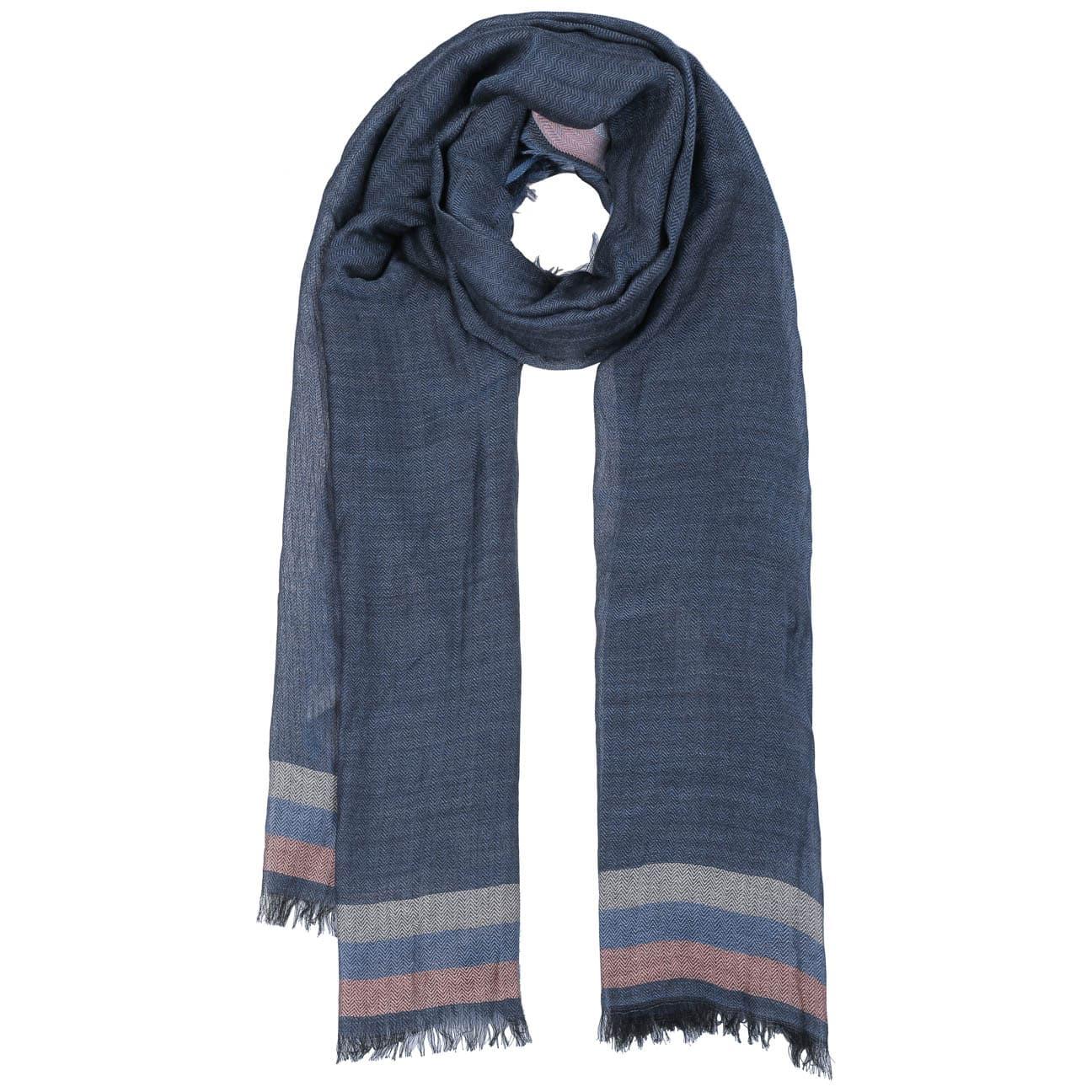 Bufanda Herringbone Stripes Wool-Mix by Passigatti