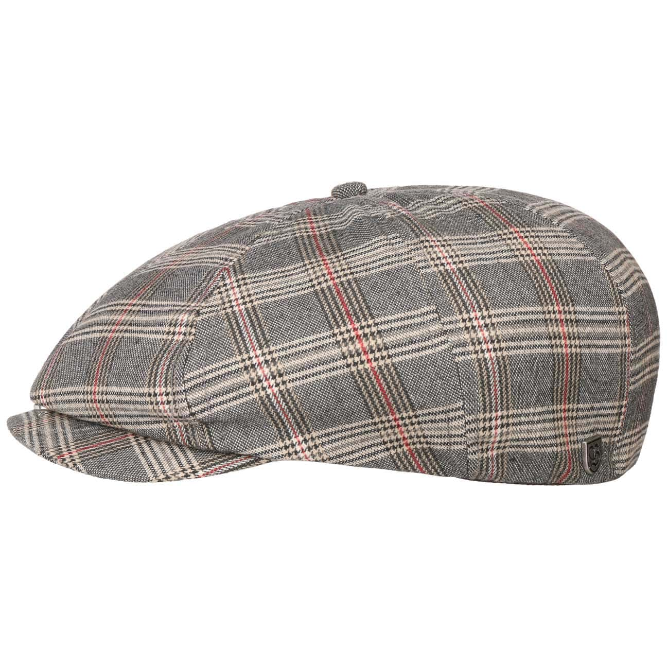 Gorra Brood Grey Plaid by Brixton