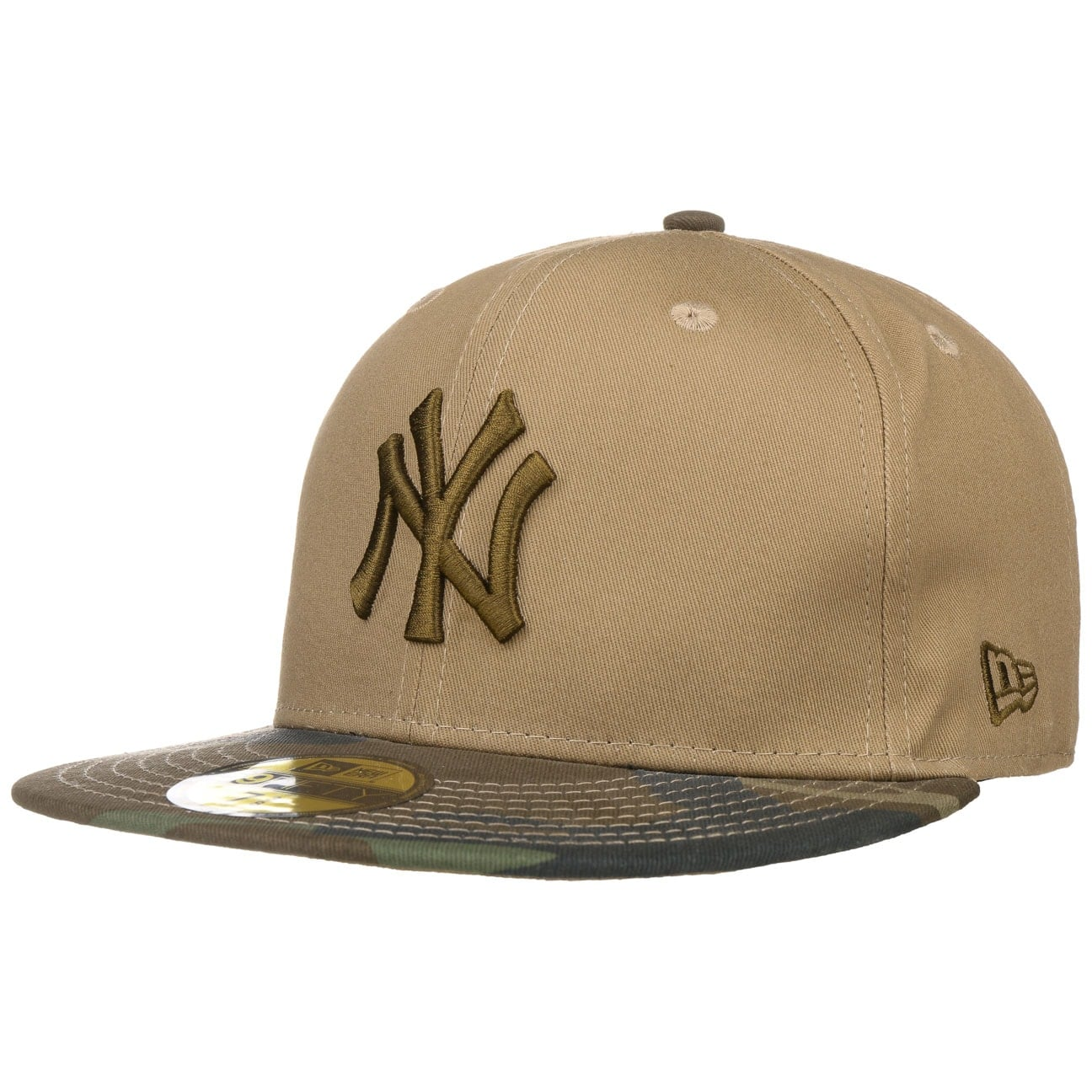 59Fifty Camo Ess Yankees by New Era