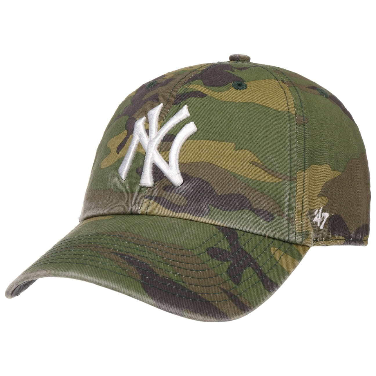 Gorra Clean Up Camo Yankees by 47 Brand