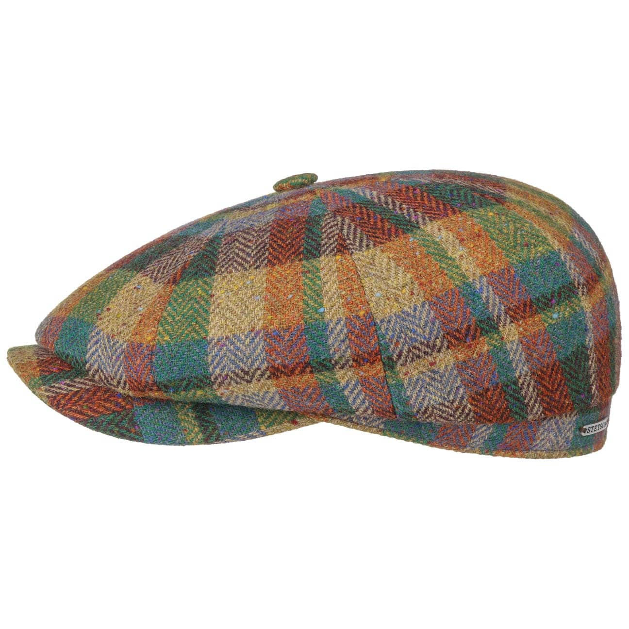 Gorra Hatteras Lambswool Patchwork by Stetson