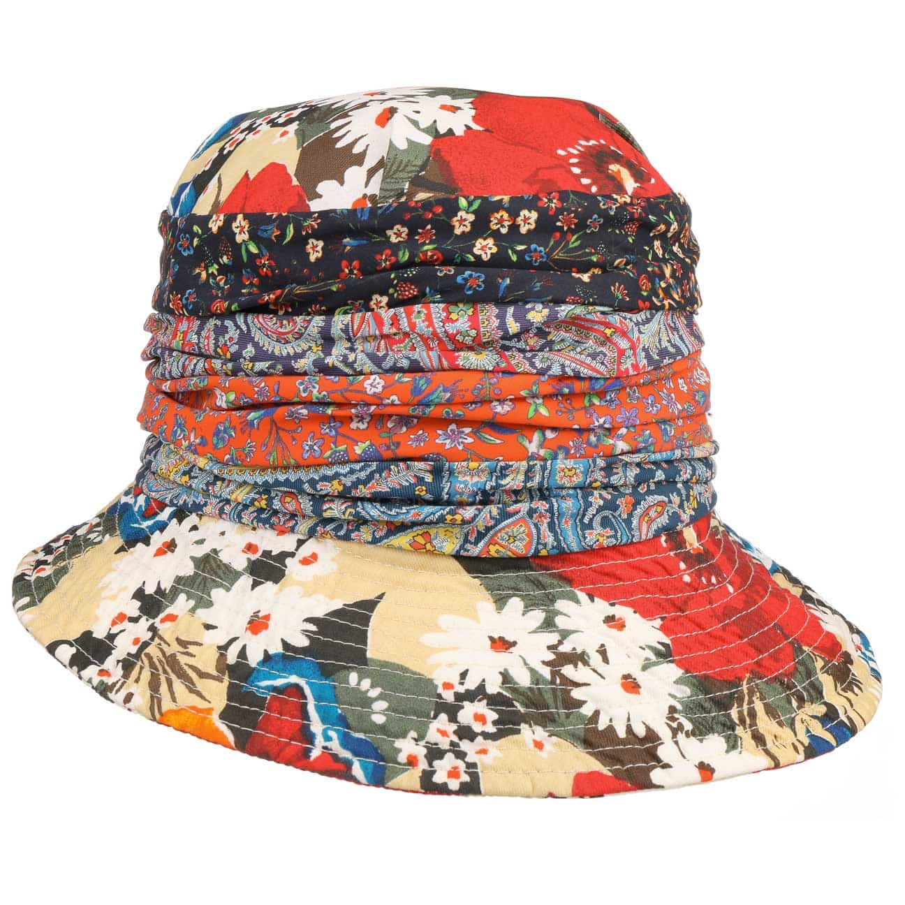 Sombrero de Mujer Flower Paisley by GREVI